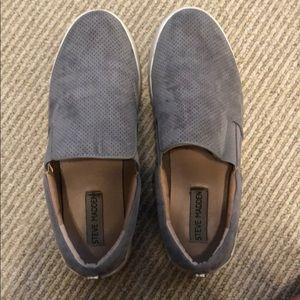 Steve Madden Suede perforated platform sneakers